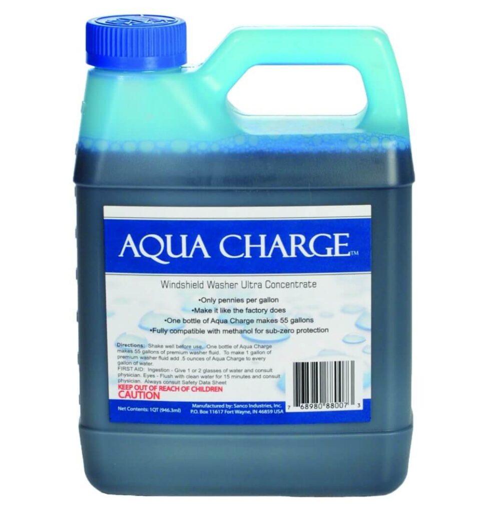 aqua charge wipe fluid