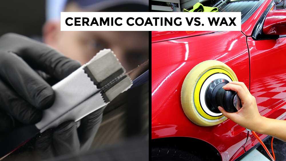 ceramic coating vs wax