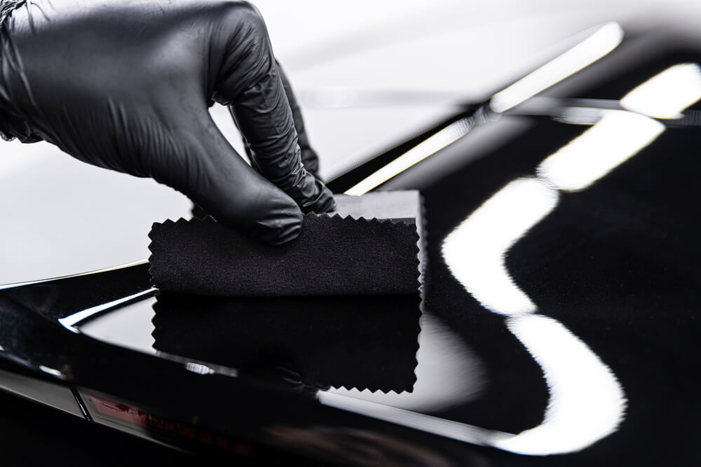 how to remove ceramic coating from the car