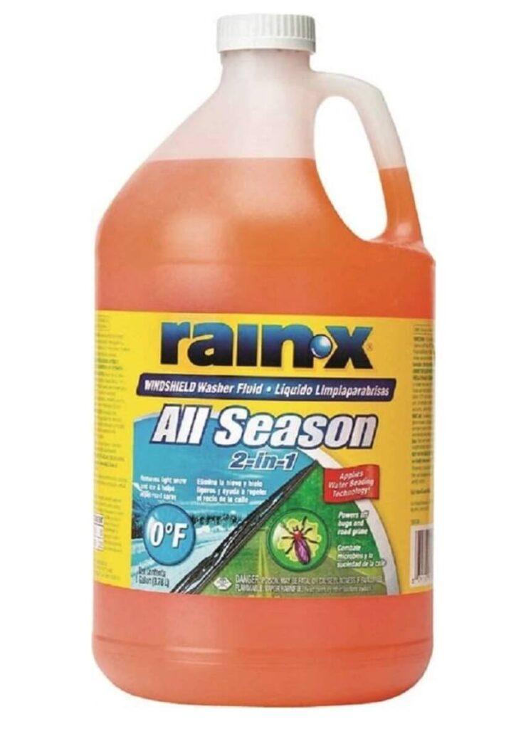 Rain x, best windshield washer fluid