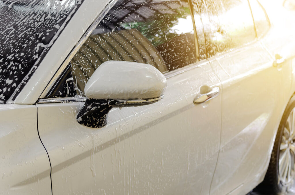 how to maintain ceramic coating by washing car