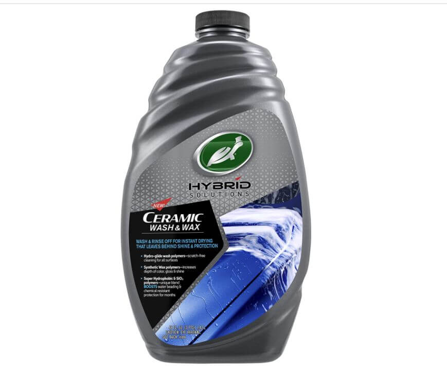 Turtle Wax 53411 Hybrid Solutions Ceramic Wash and Wax