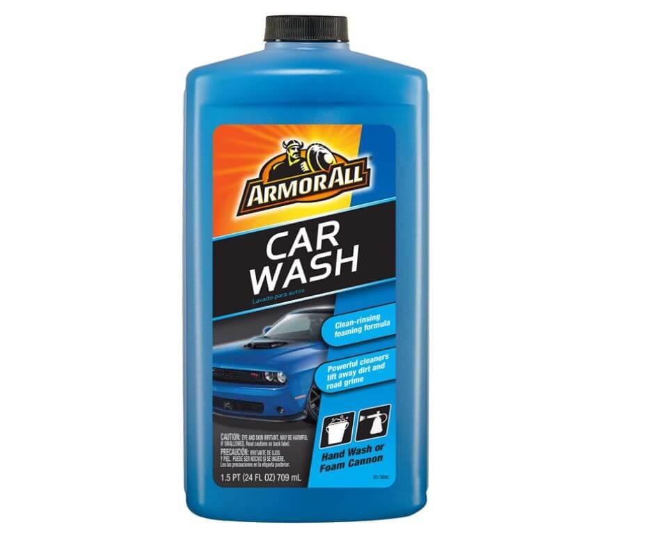armor all ceramic car wash soap