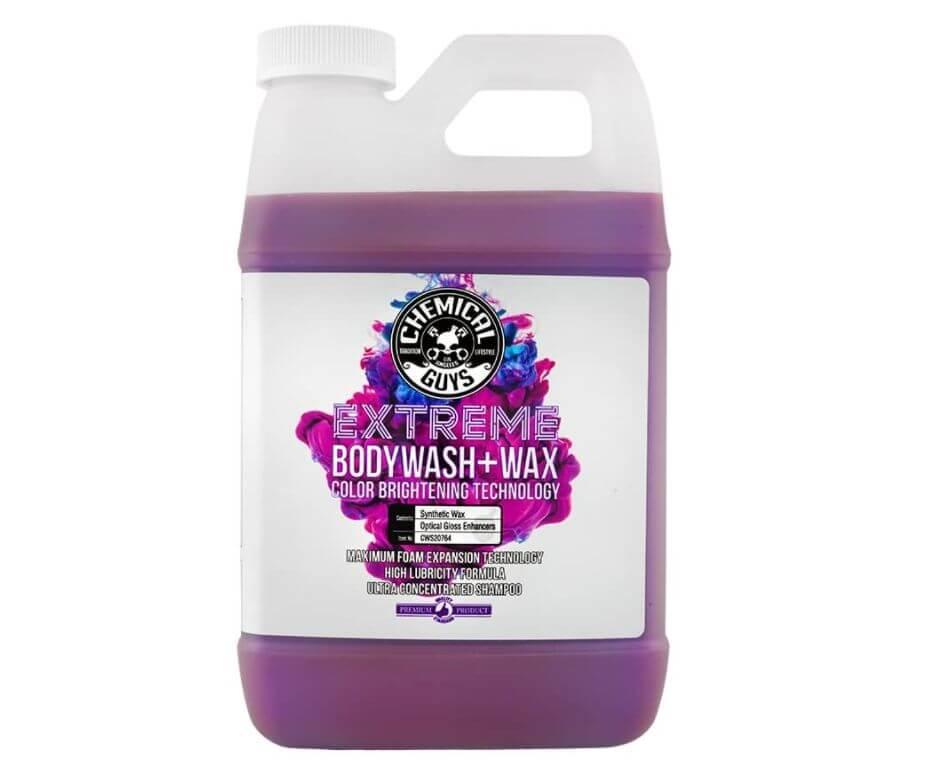 chemical guys body wash and wax ceramic car wash